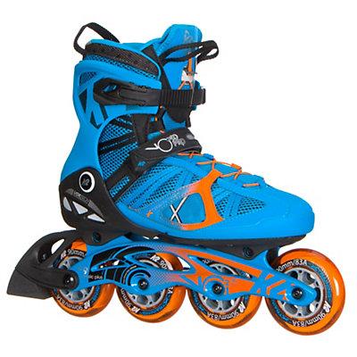 K2 VO2 90 Pro Inline Skates 2017, Blue-Orange, viewer