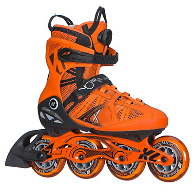 K2 VO2 90 Boa Inline Skates 2017, Orange, viewer
