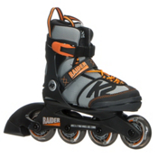 K2 Raider Adjustable Kids Inline Skates 2017, Black-Orange, medium
