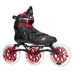 K2 Mod 125 Inline Skates 2017, Black-Red, 256