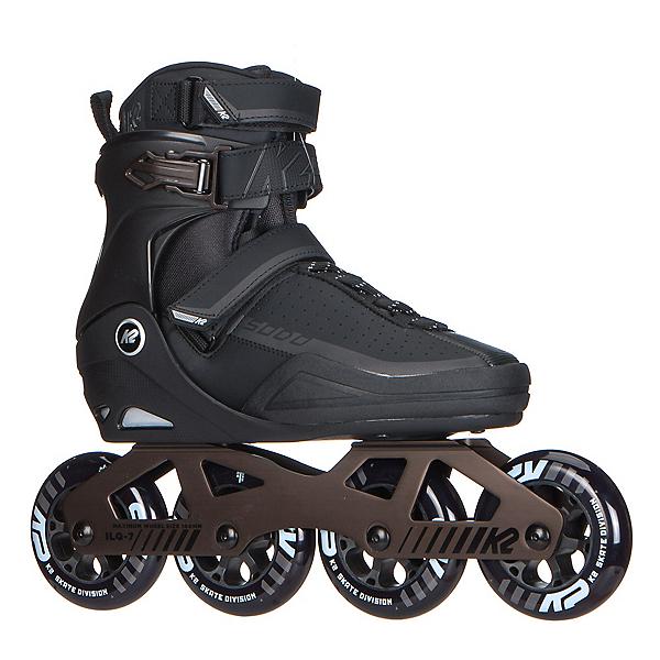 K2 Sodo Urban Inline Skates 2017, Black-Gray, 600