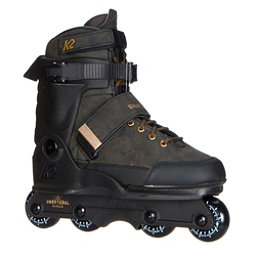 K2 Unnatural Aggressive Skates 2017, Olive, 256