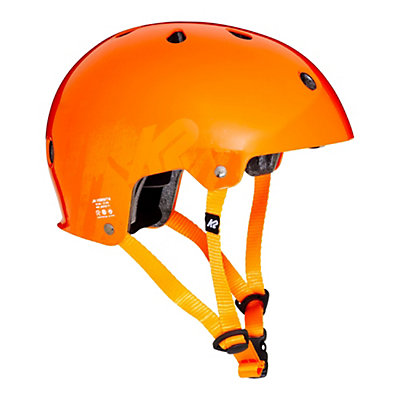 K2 Jr Varsity Boys Skate Helmet 2017, Orange, viewer