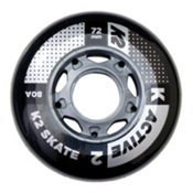 K2 72mm 80A Inline Skate Wheels - 4 Pack 2017, , medium
