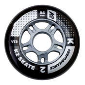 K2 Performance 84mm 82A Inline Skate Wheels - 4 Pack 2017, , medium