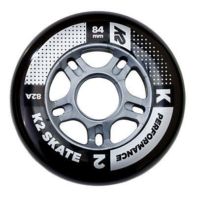 K2 Performance 84mm 82A Inline Skate Wheels - 4 Pack 2017, , viewer