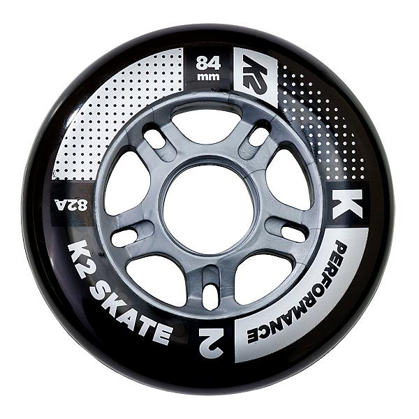 K2 Performance 84mm 82A Inline Skate Wheels - 4 Pack 2017, , 600