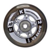 K2 80mm Inline Skate Wheels with ILQ7 Bearings - 8 Pack 2017, , medium