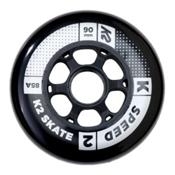 K2 Speed 90mm 85A Inline Skate Wheels - 4 Pack 2017, , medium
