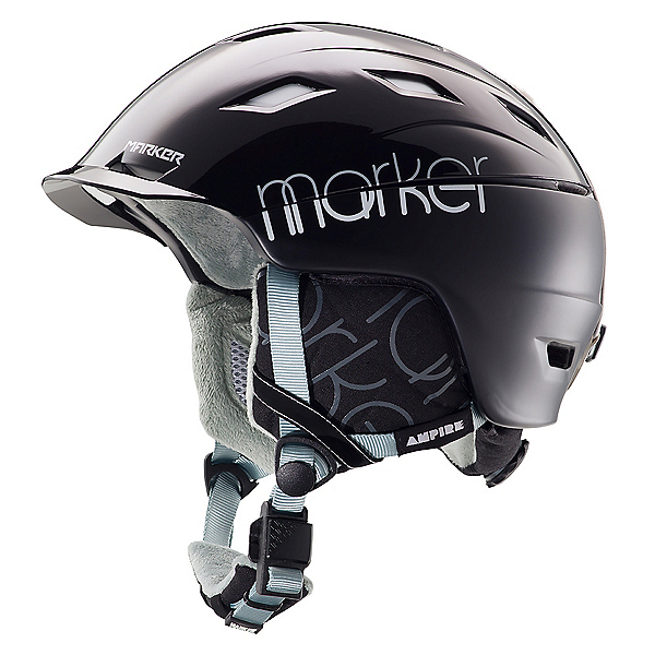 Marker Ampire W Womens Helmet, 2 Block All Black, 600
