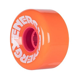Riedell Energy Roller Skate Wheels 2017, Peach, 256
