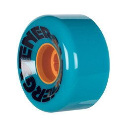 Riedell Energy Roller Skate Wheels 2017, Teal, 256