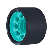Riedell Halo - 4 Pack Roller Skate Wheels 2017, Teal, medium