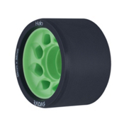Riedell Halo Roller Skate Wheels 2017, Green, medium