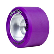 Riedell Speed Ray - 4 Pack Roller Skate Wheels 2017, Purple, medium