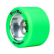 Riedell Speed Ray - 4 Pack Roller Skate Wheels 2017, Green, medium