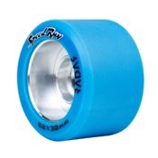 Riedell Speed Ray - 4 Pack Roller Skate Wheels 2017, Blue, medium