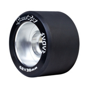 Riedell Speed Ray Roller Skate Wheels 2017, Black, medium