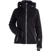 NILS Estelle Womens Insulated Ski Jacket, Black, medium