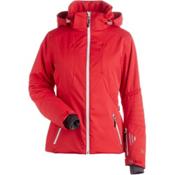 NILS Estelle Womens Insulated Ski Jacket, Cherry, medium