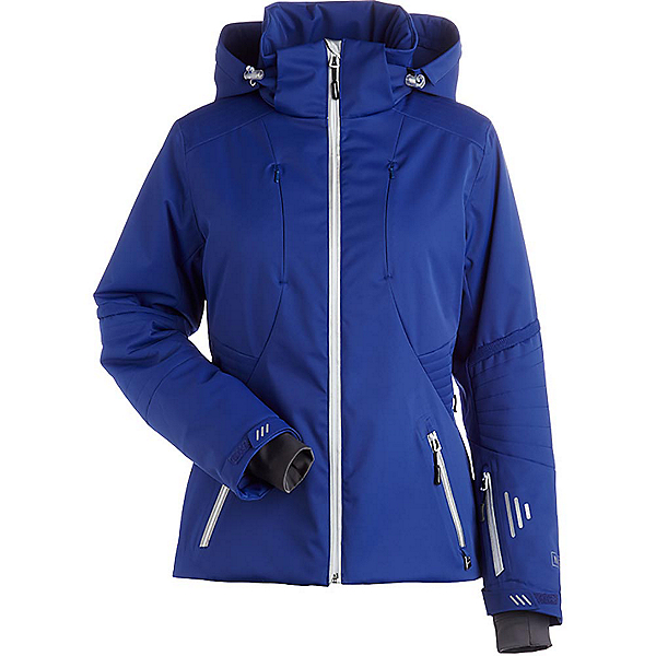 NILS Estelle Womens Insulated Ski Jacket, Indigo, 600