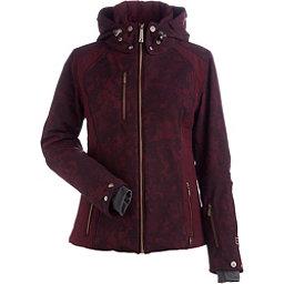 NILS Josie Womens Insulated Ski Jacket, Cabernet Winter Winds Print-Ca, 256