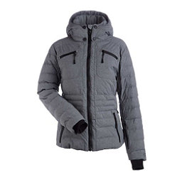 NILS Brooksie Womens Insulated Ski Jacket, Dark Texture, 256