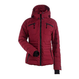 NILS Brooksie Womens Insulated Ski Jacket, Cranberry, 256