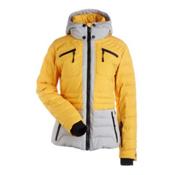 NILS Brook Womens Insulated Ski Jacket, Cornsilk-Light Texture, medium