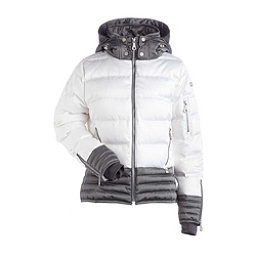 NILS Liv Womens Insulated Ski Jacket, White-Pewter, 256