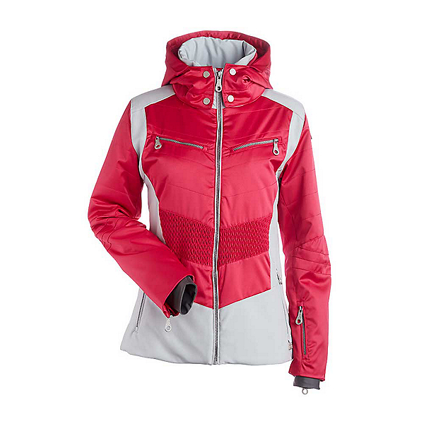 NILS Penny Womens Insulated Ski Jacket, Cyclamen-Silver, 600
