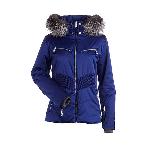 NILS Penelope Womens Insulated Ski Jacket, Indigo, 600