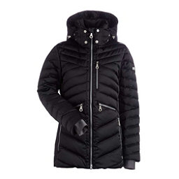 NILS Raina Womens Insulated Ski Jacket, Black, 256