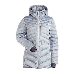 NILS Raina Print Womens Insulated Ski Jacket, Silver Mist Print, 256
