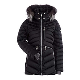 NILS Raina Fur Womens Insulated Ski Jacket, Black, 256