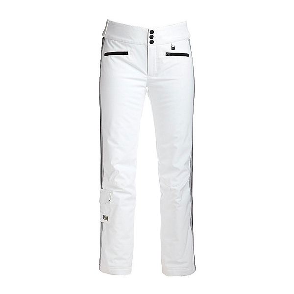 NILS Addie Womens Ski Pants, White-Light Texture-Dark Textu, 600