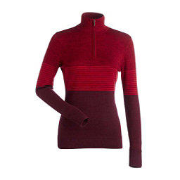 NILS Riley Womens Sweater, Cranberry-Cherry-Cherry, 256