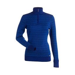 NILS Maddison Womens Sweater, Indigo-Glacier, 256