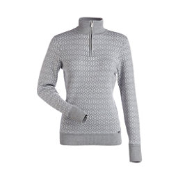 NILS Maddison Womens Sweater, Silver-White, 256