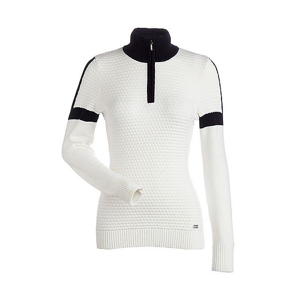 NILS Emma Womens Sweater, White-Black, 600