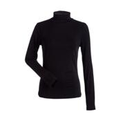 NILS Danielle Womens Long Underwear Top, Black, medium