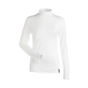 NILS Danielle Womens Long Underwear Top, White, medium