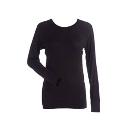 NILS Erica Womens Long Underwear Top, Black, 256