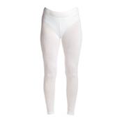 NILS Blaine Legging Womens Long Underwear Pants, White, medium