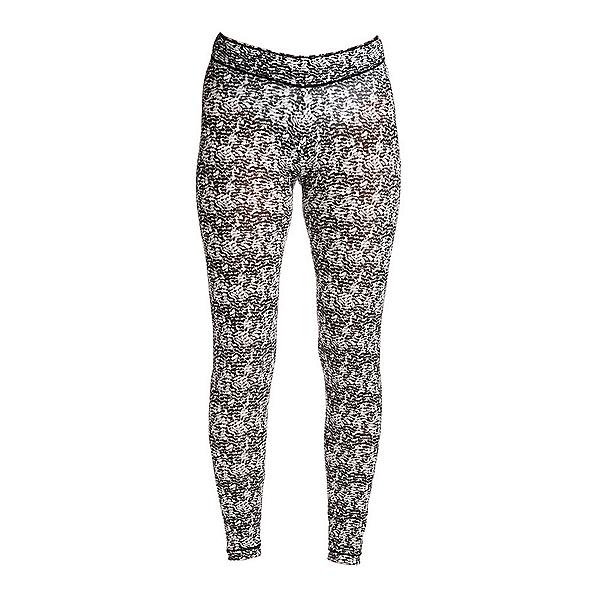 NILS Blaine Print Legging Womens Long Underwear Pants, Black-White Turbulence Print, 600