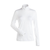 NILS Brooklyn Womens Long Underwear Top, White, medium