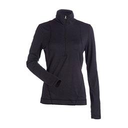 NILS Brooklyn Womens Long Underwear Top, Black, 256