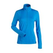NILS Brooklyn Womens Long Underwear Top, Glacier Blue, medium