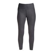 NILS Jenni Special Edition Leggings Womens Long Underwear Pants, Black-White Velocity Print, medium