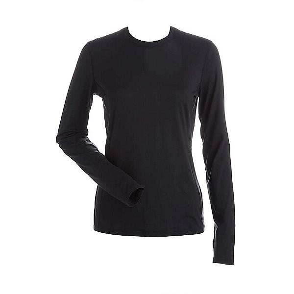 NILS Kayla Womens Long Underwear Top, Black, 600